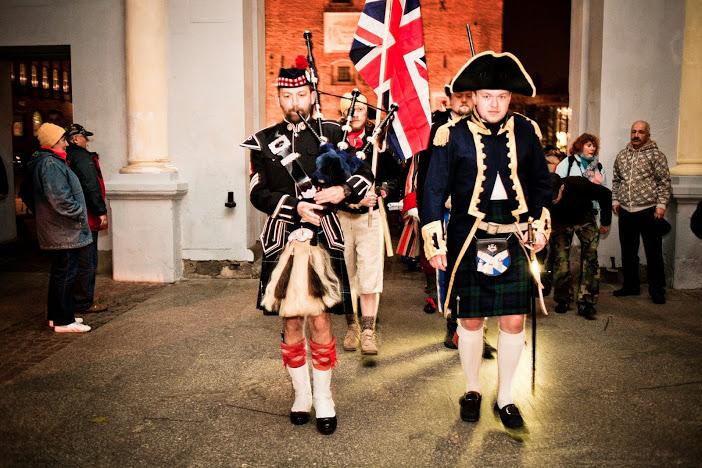 Trafalgar Day 2014