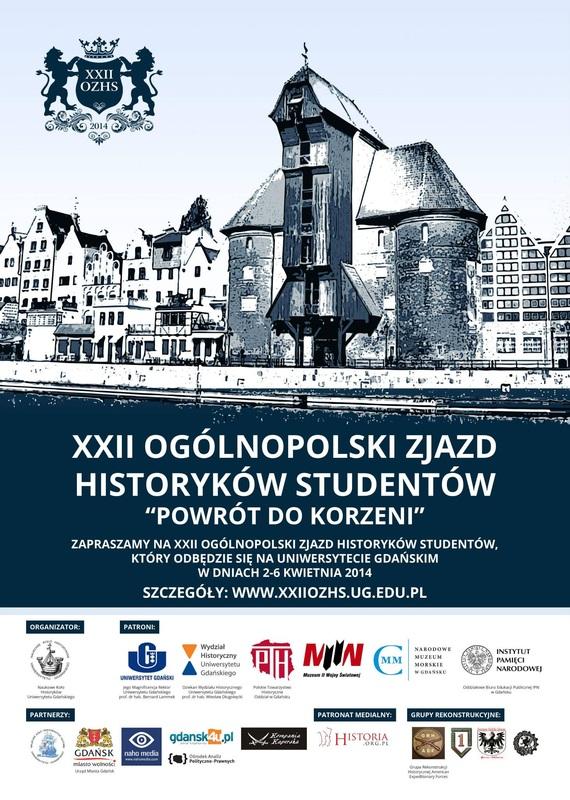 Kompania Kaperska partnerem XXII Ogólnopolskiego Zjazdu Historyków Studentów