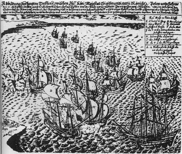 Filip Janssen, Bitwa pod Oliwą